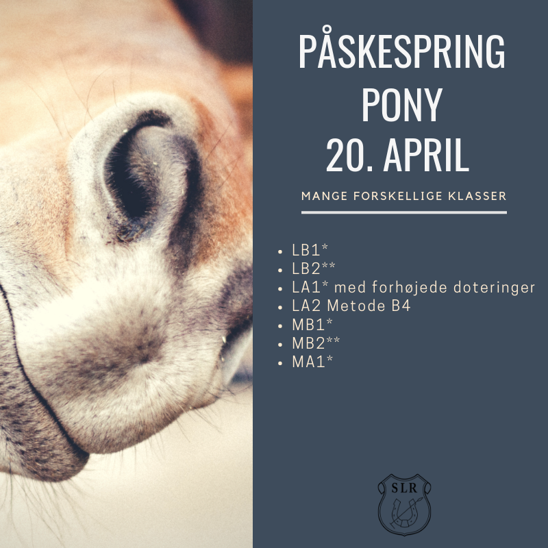 20. april ponyspring